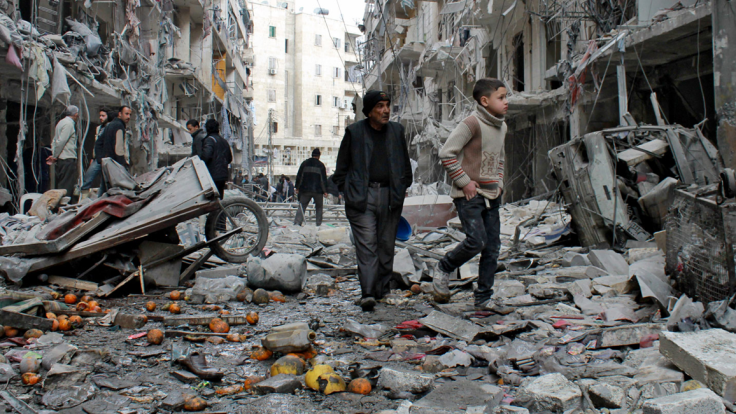 I cannot explain why some are forced to live in bombed-out homes.